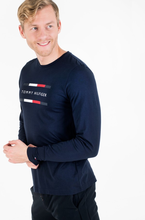 CORP TOMMY HILFIGER LONG SLV TEE