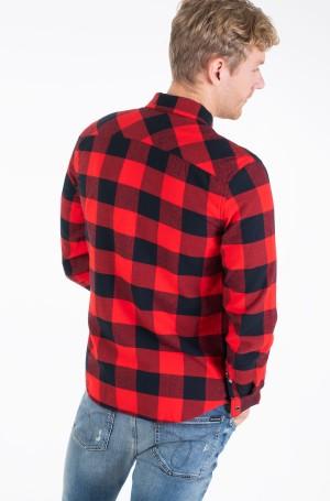 Shirt FLANNEL WESTERN CHECK REG SHIRT-3