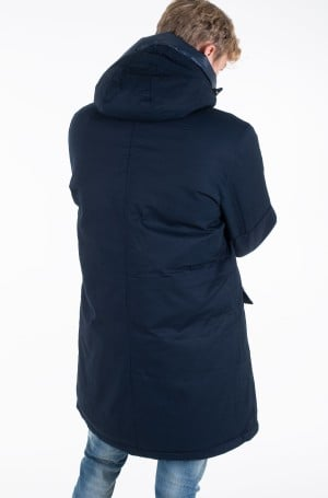 Skranda su gobtuvu TH MONOGRAM COTTON HOODED PARKA	-3