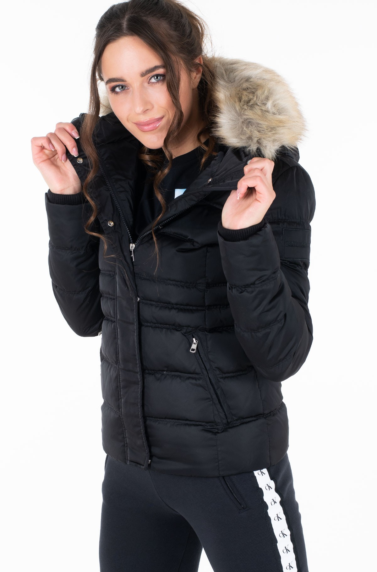 Striukė SHORT DOWN FITTED PUFFER-full-2