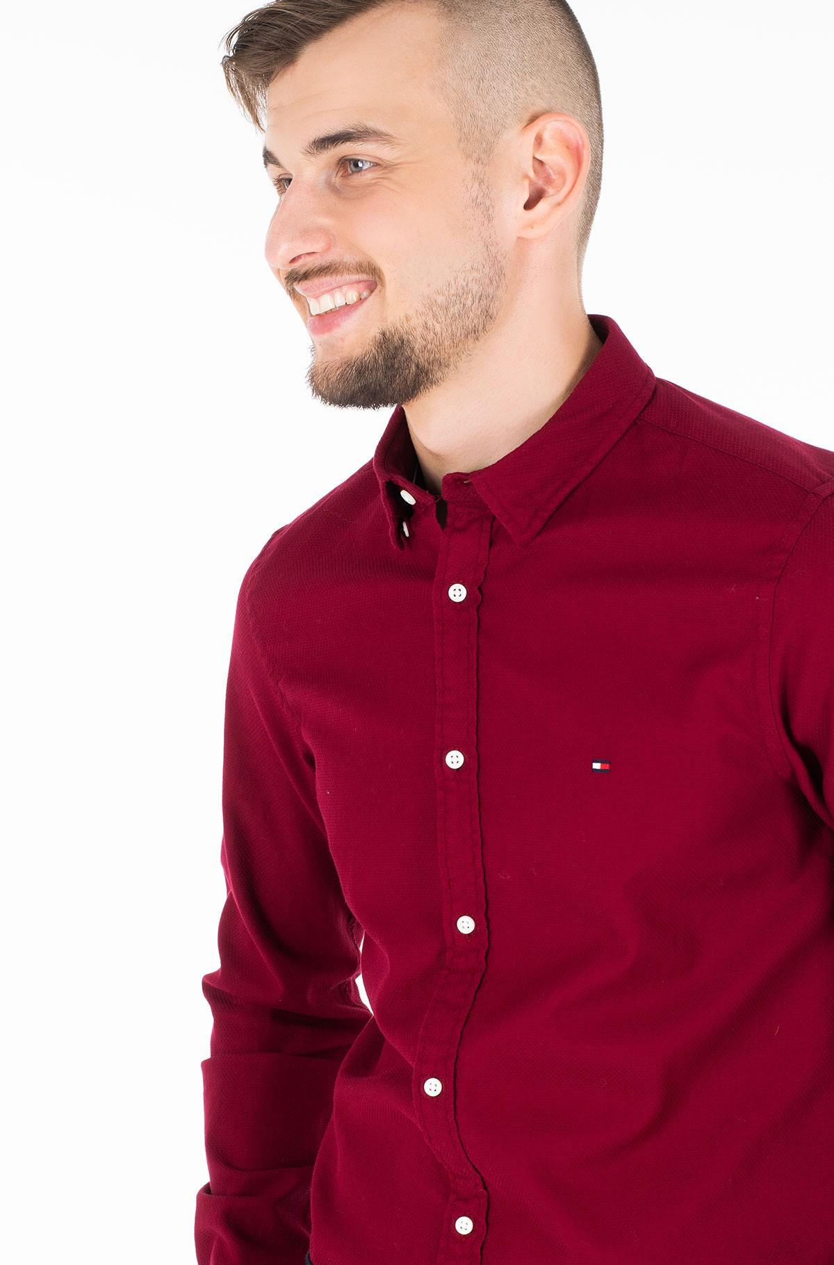 Marškiniai SLIM CLASSIC DOBBY SHIRT-full-1
