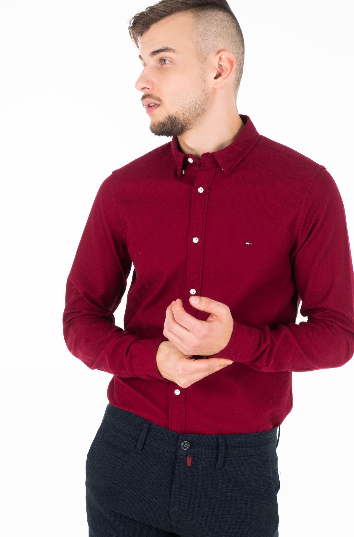 Marškiniai SLIM CLASSIC DOBBY SHIRT-full-2