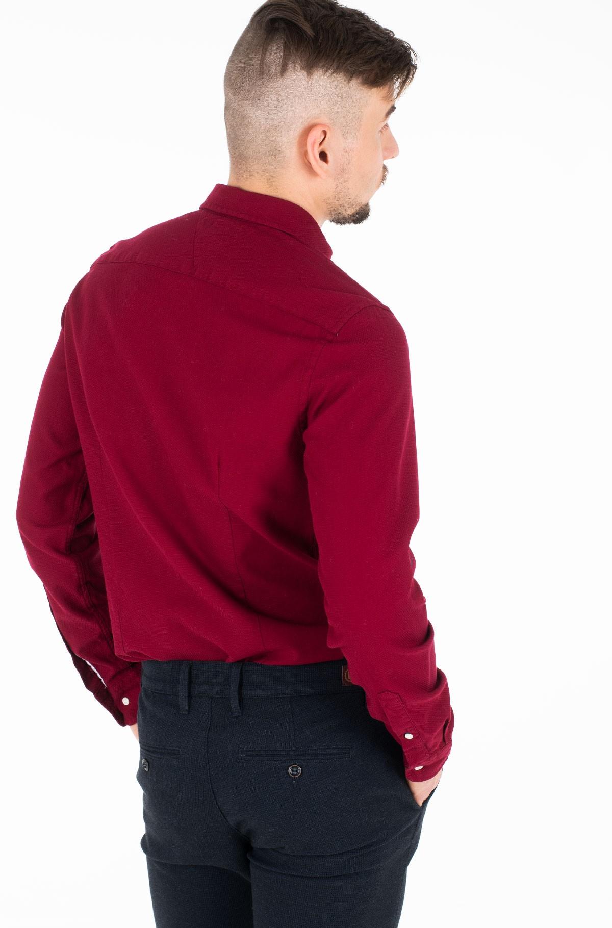 Marškiniai SLIM CLASSIC DOBBY SHIRT-full-3