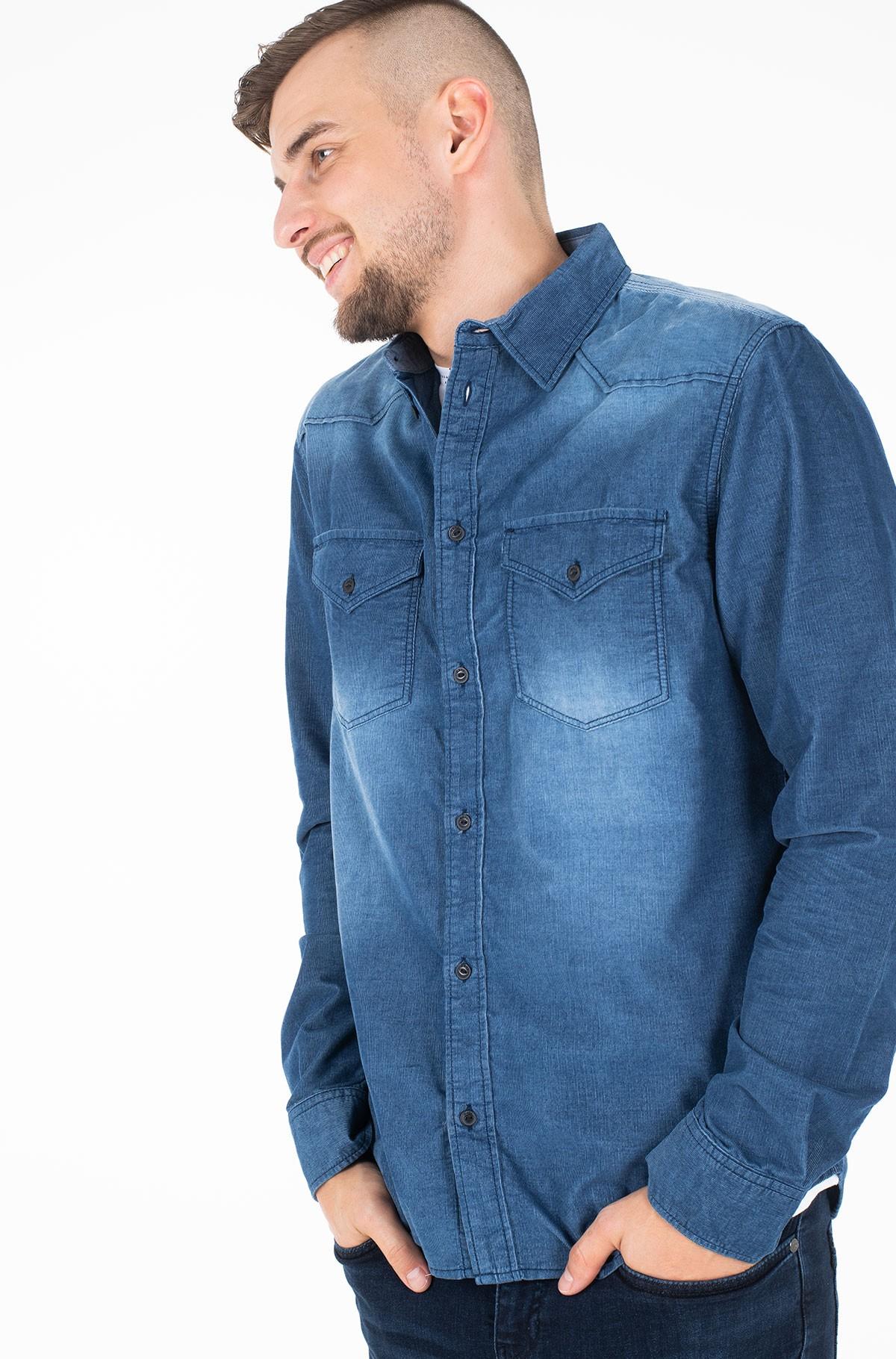 Velvetiniai marškiniai CANYON CORD/PM306146-full-2