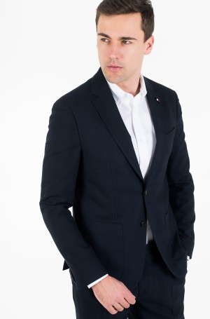 Švarkas SLIM FIT CHECK FLEX BLAZER-2