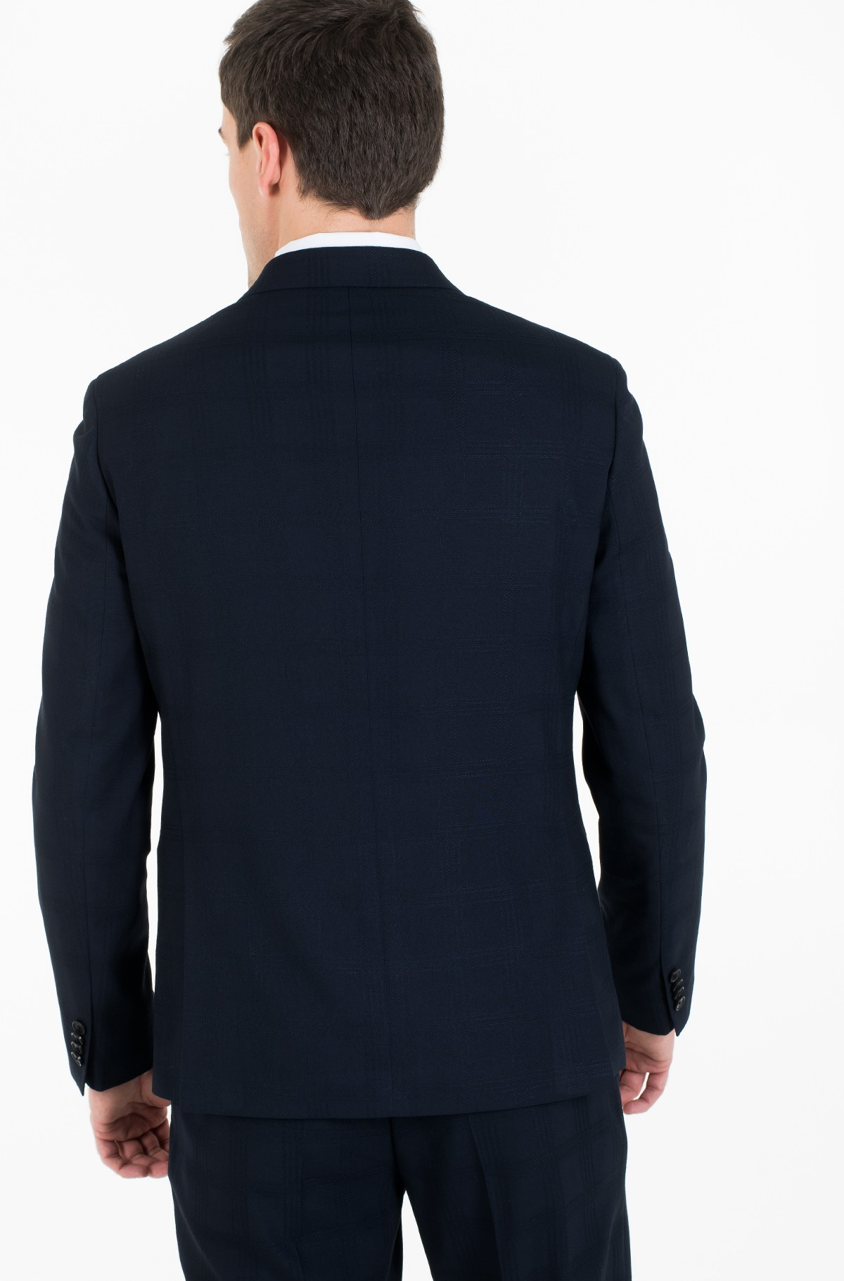 Blazer SLIM FIT CHECK FLEX BLAZER-full-3
