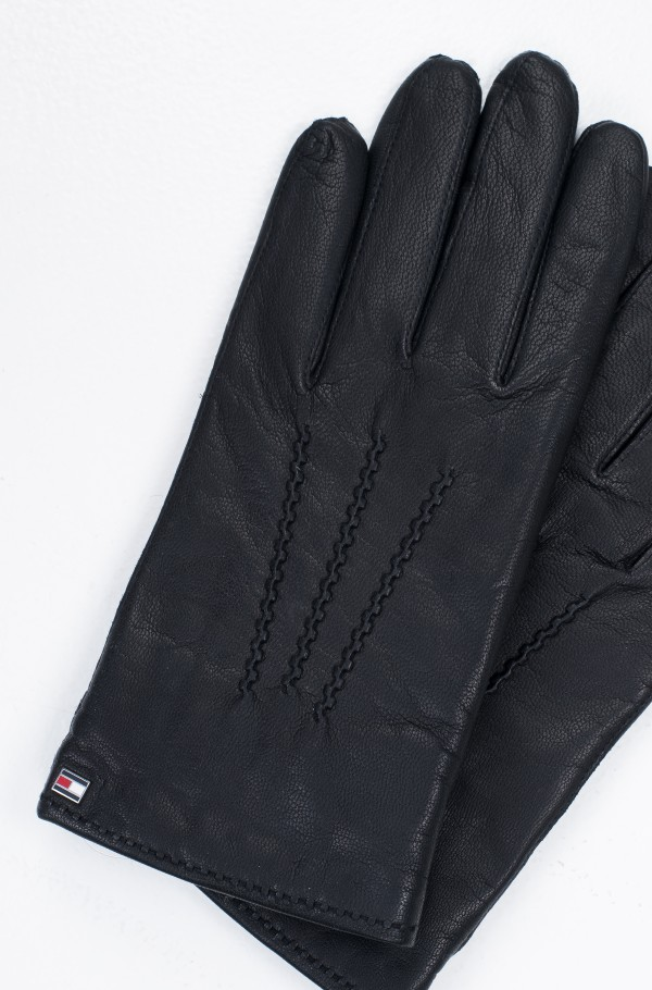 FLAG LEATHER GLOVES-hover