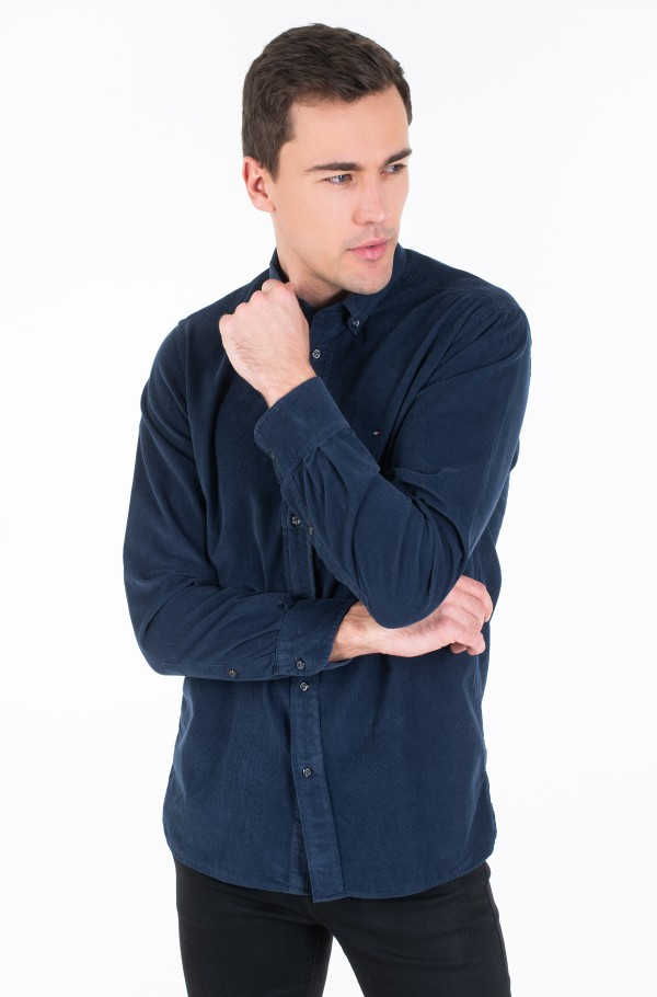 GARMENT DYED CORDUROY SHIRT