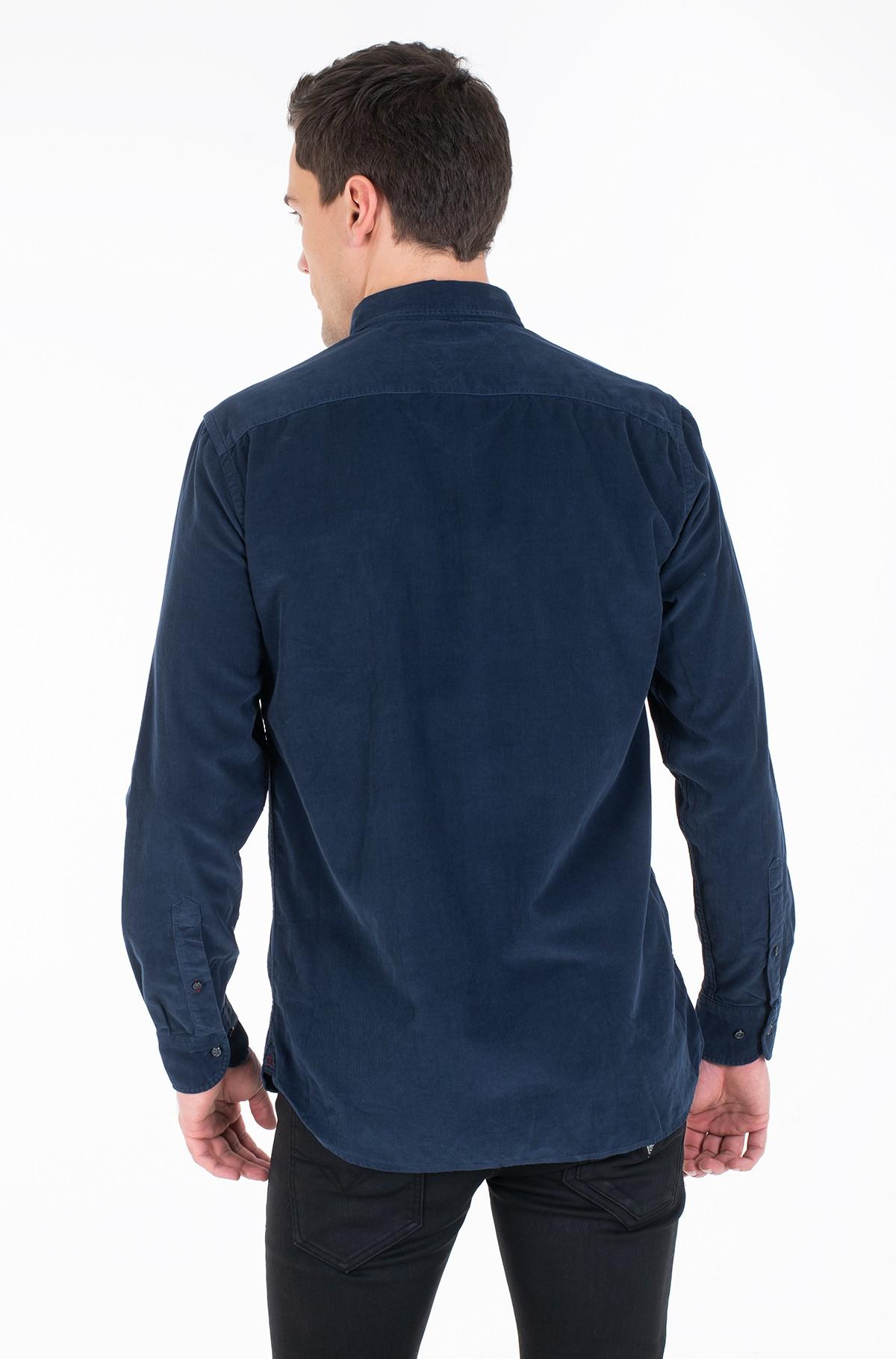 Velvetiniai marškiniai GARMENT DYED CORDUROY SHIRT-full-3