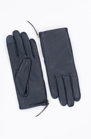 Kindad CORPORATE DETAIL LEATHER GLOVES-1