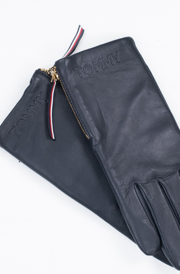 CORPORATE DETAIL LEATHER GLOVES-hover