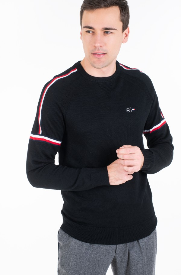 2 MB TECH STRIPE SWEATER-hover