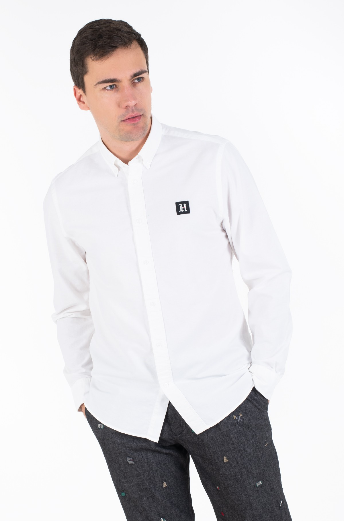 Marškiniai LH CLASSIC OXFORD SHIRT-full-2