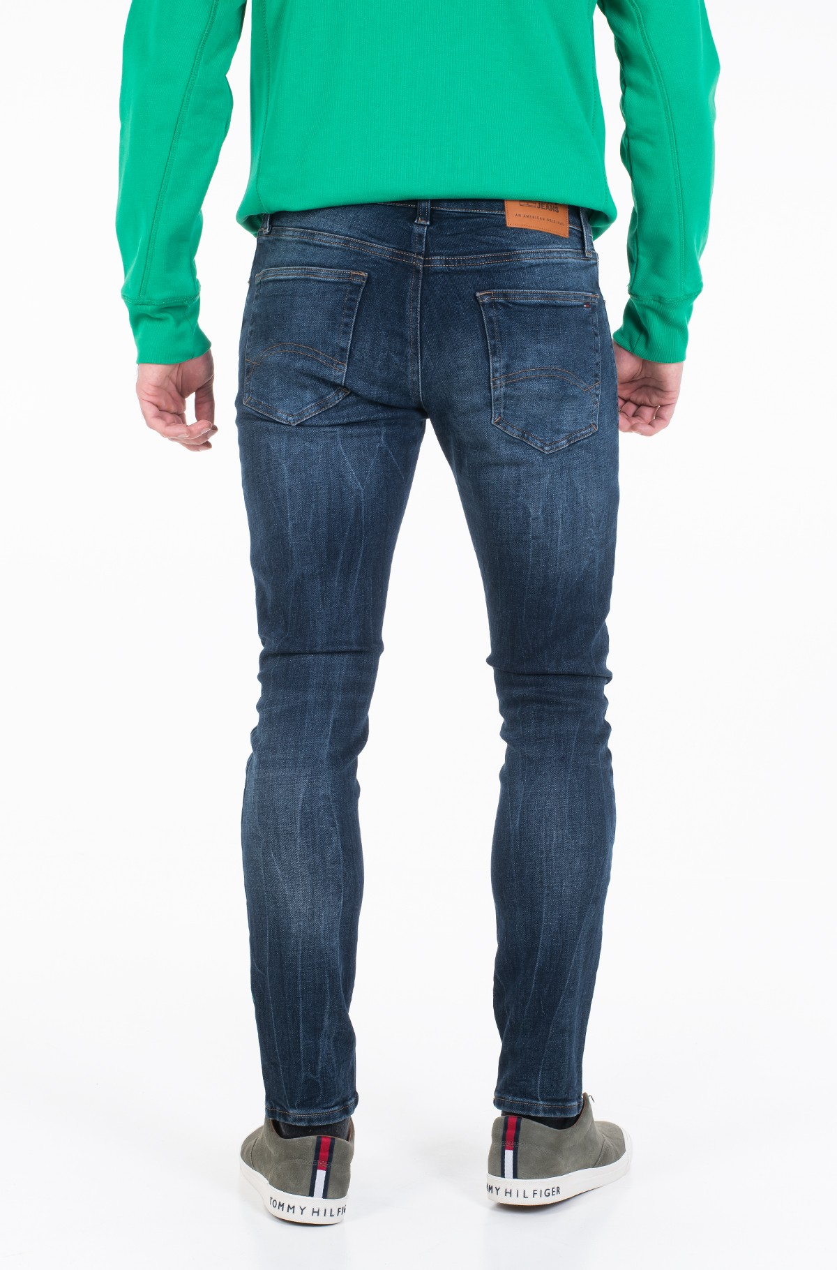 Teksapüksid SLIM TAPERED STEVE SNSDK-full-3