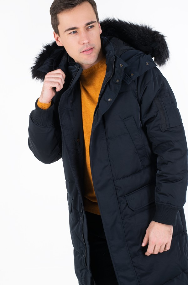 AD- GOOSE DOWN PARKA LONG-hover
