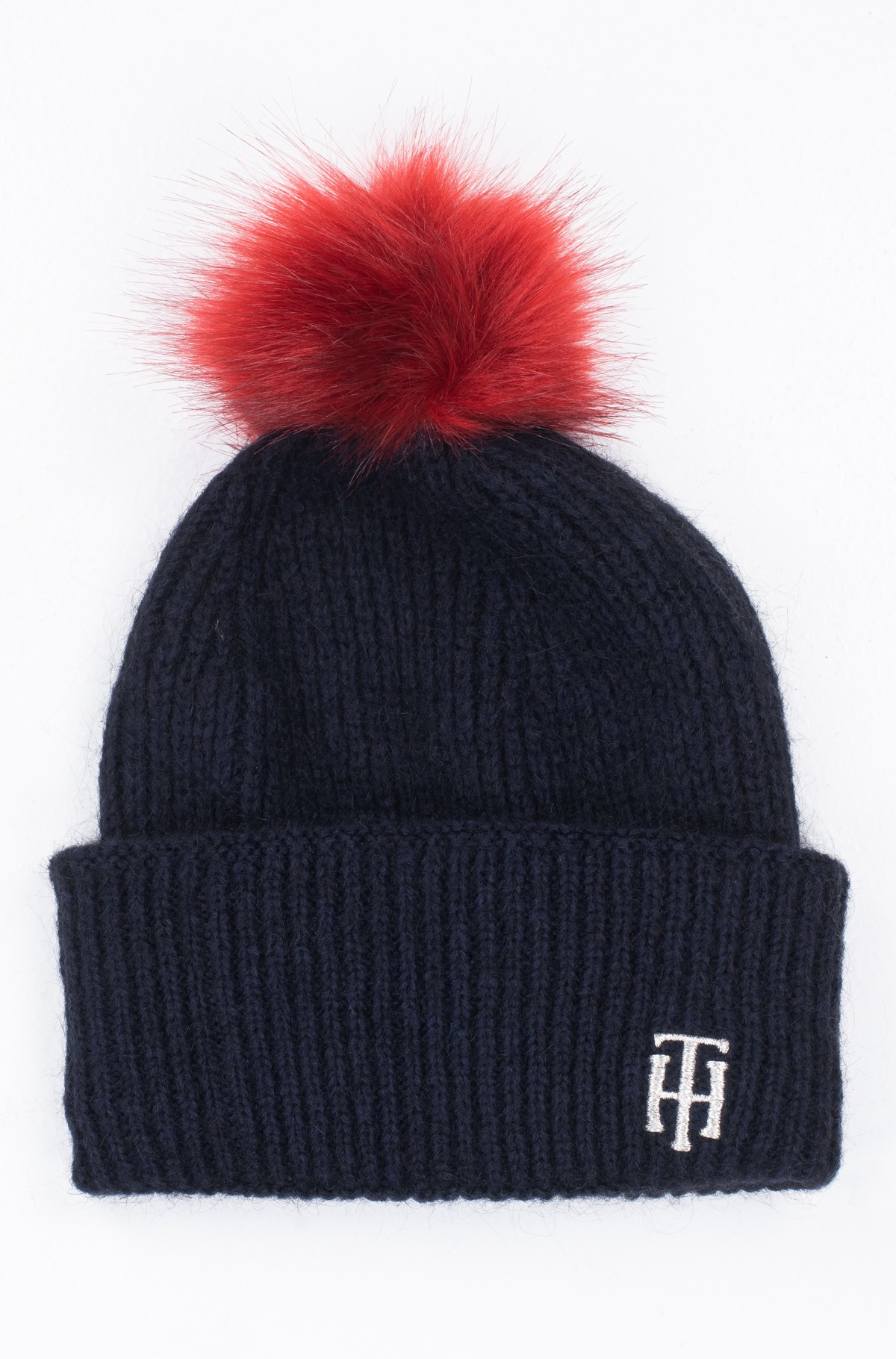 Kepurė TH POMPOM BEANIE-full-3