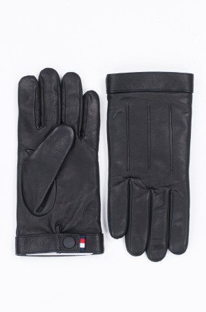 Nahkkindad LOGO EMBOSSED LEATHER GLOVES-1