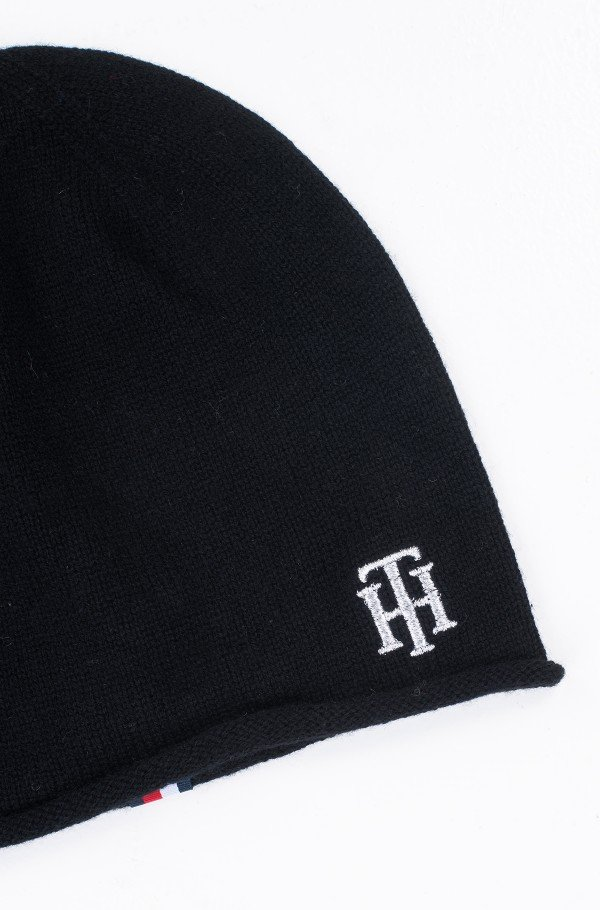 CASHMERE MIX KNIT BEANIE-hover