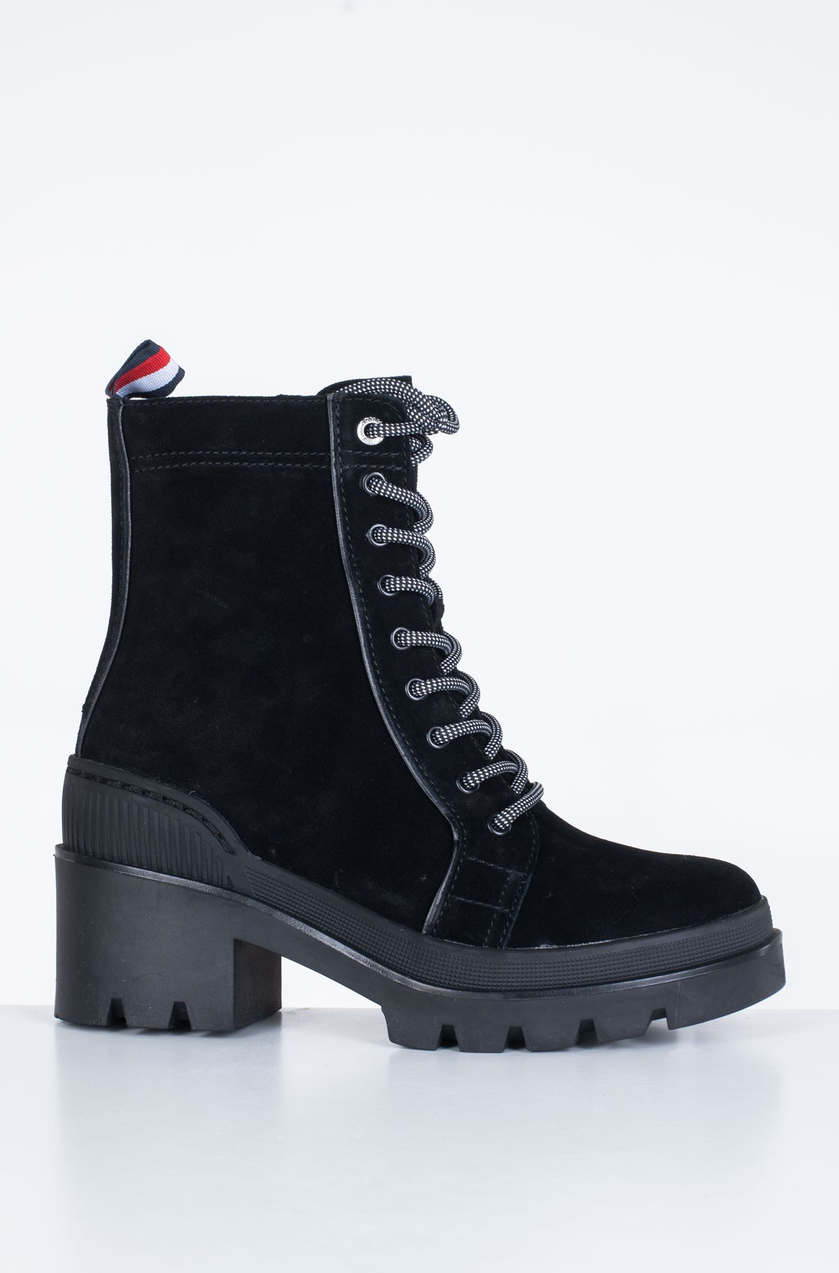 Aulinukai SPORTY CHUNKY LACE UP BOOTIE-full-1