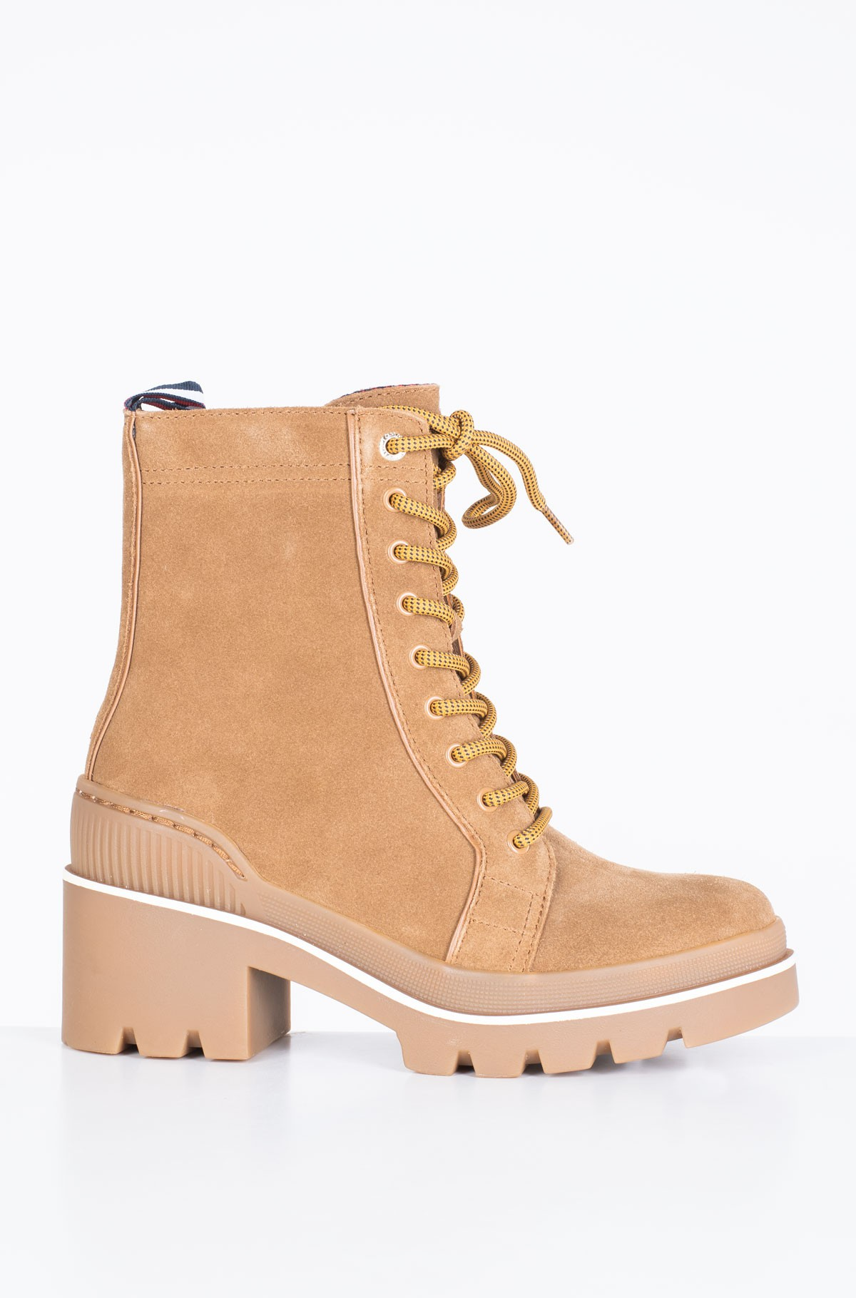Poolsaapad SPORTY CHUNKY LACE UP BOOTIE-full-1
