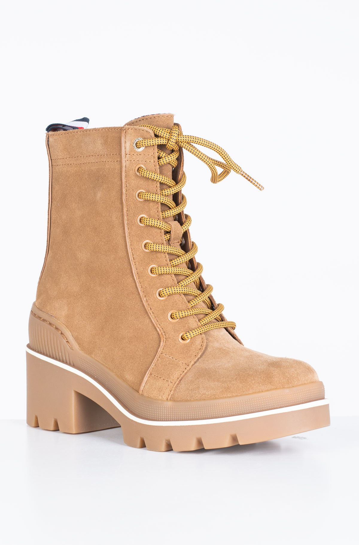 Poolsaapad SPORTY CHUNKY LACE UP BOOTIE-full-3