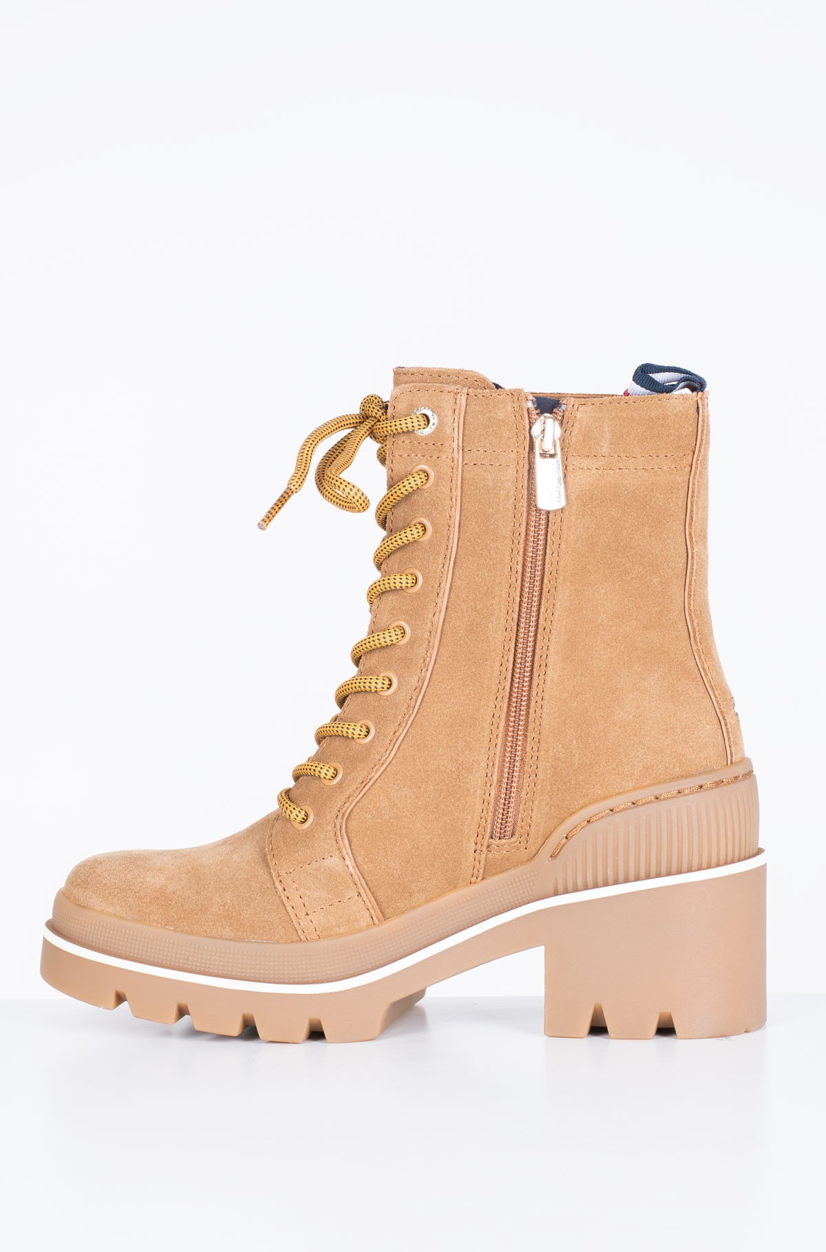 Ankle boots SPORTY CHUNKY LACE UP BOOTIE-full-4