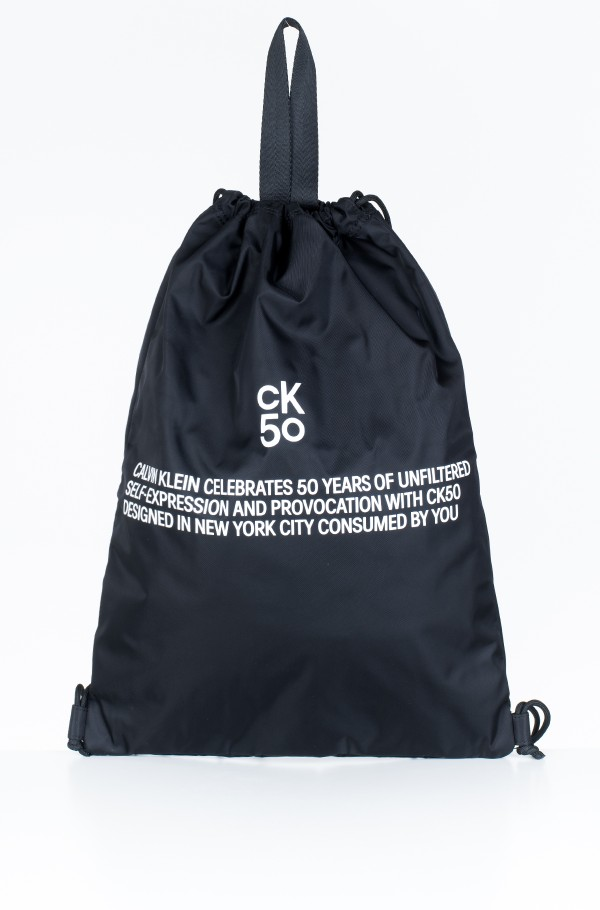 CKJ 50 DRAWSTRING GYM BAG