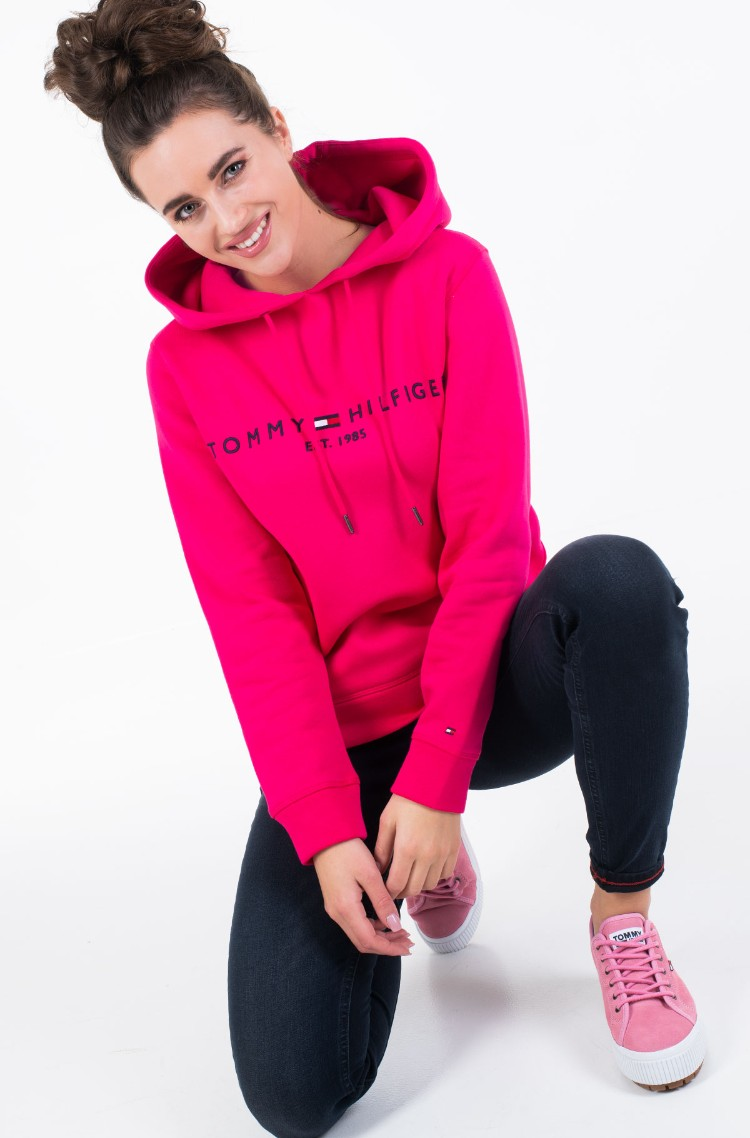 спортивный свитер TH ESS HILFIGER HOODIE LS143580