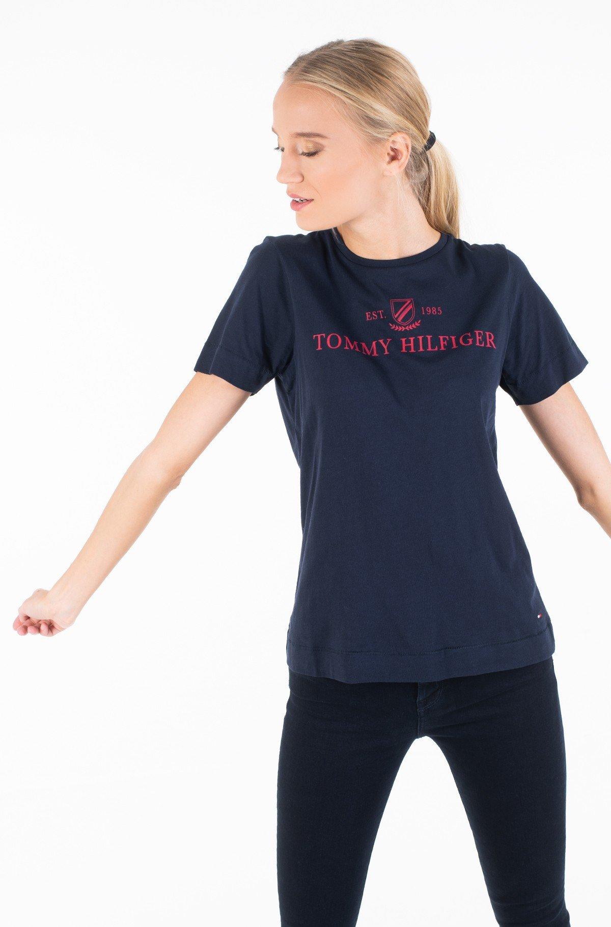 Marškinėliai KELSEY C-NK TEE SS-full-1