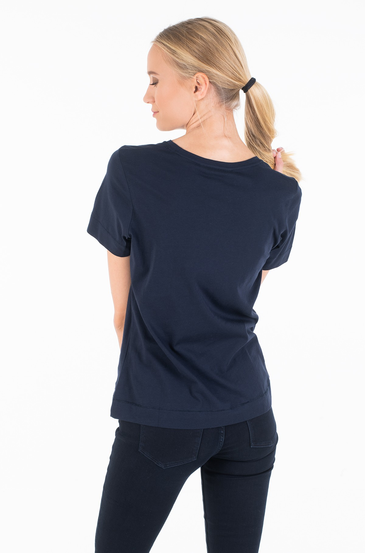 Marškinėliai KELSEY C-NK TEE SS-full-3