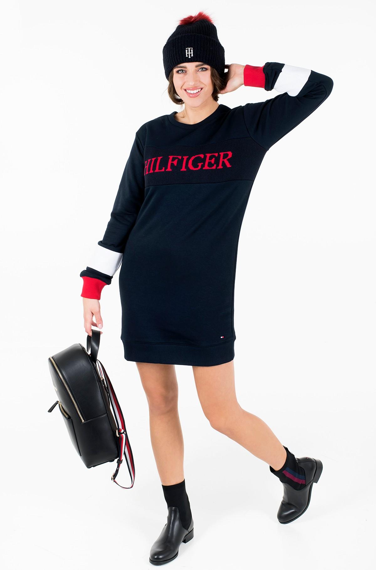 Dress LAUREEN C-NK DRESS LS-full-3