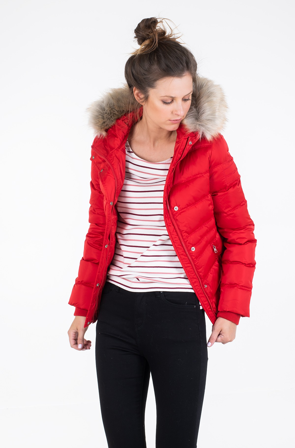 Striukė SHORT DOWN FITTED PUFFER-full-1