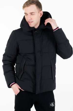 Striukė STRETCH NYLON HOODED BOMBER-2