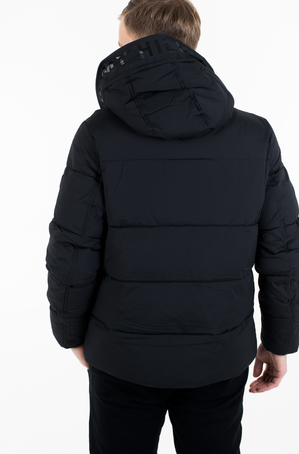 Striukė STRETCH NYLON HOODED BOMBER-full-3