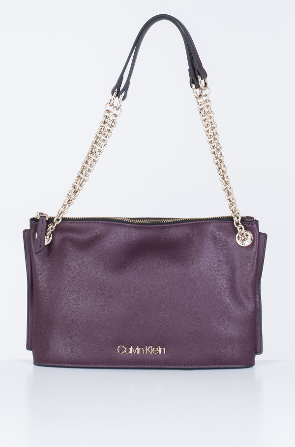 CHAINED CONV SHOULDERBAG