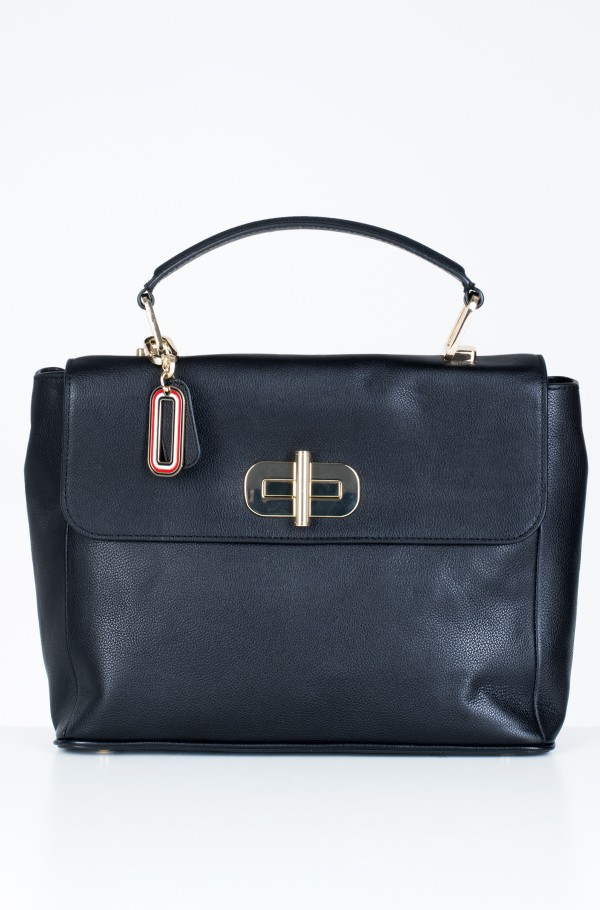 ELEVATED LEATHER SATCHEL