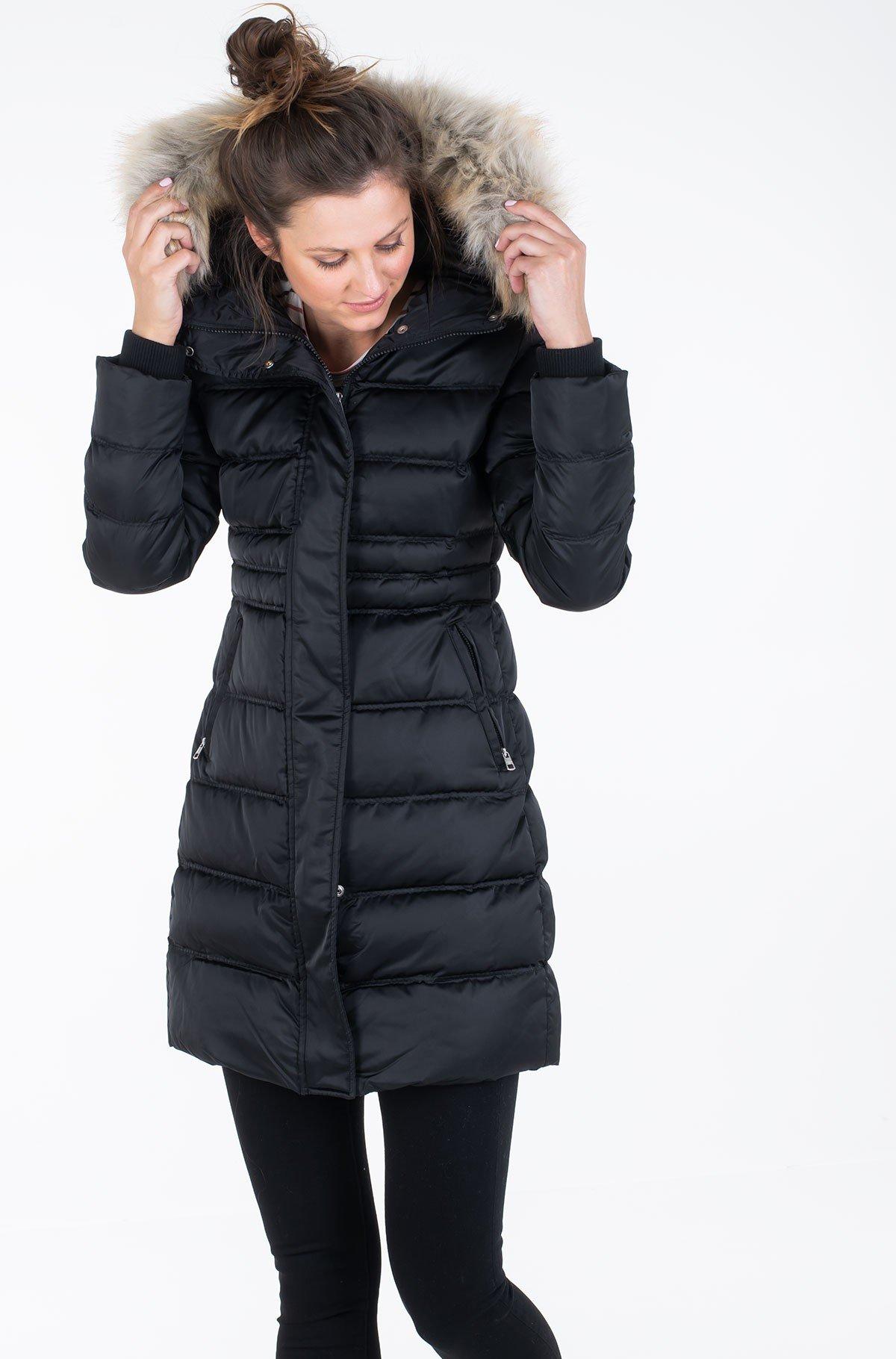 Coat MW DOWN LONG NYLON PUFFER-full-2
