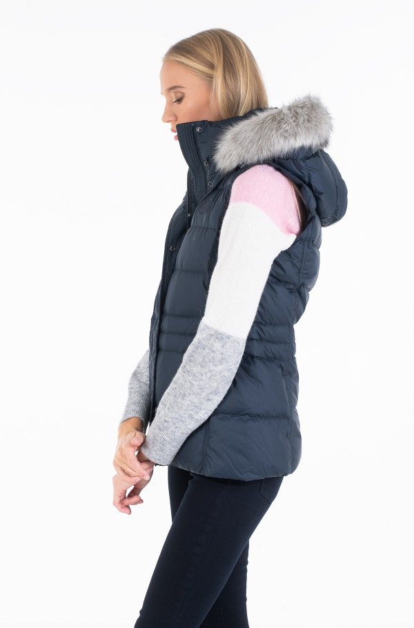 NEW TYRA DOWN VEST-hover