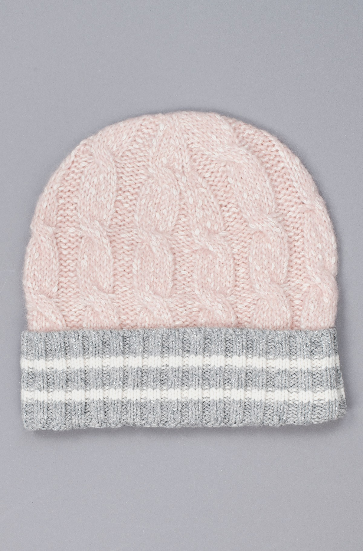 Hat CABLE KNIT BEANIE-full-1
