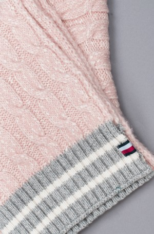 Sall CABLE KNIT SCARF-3