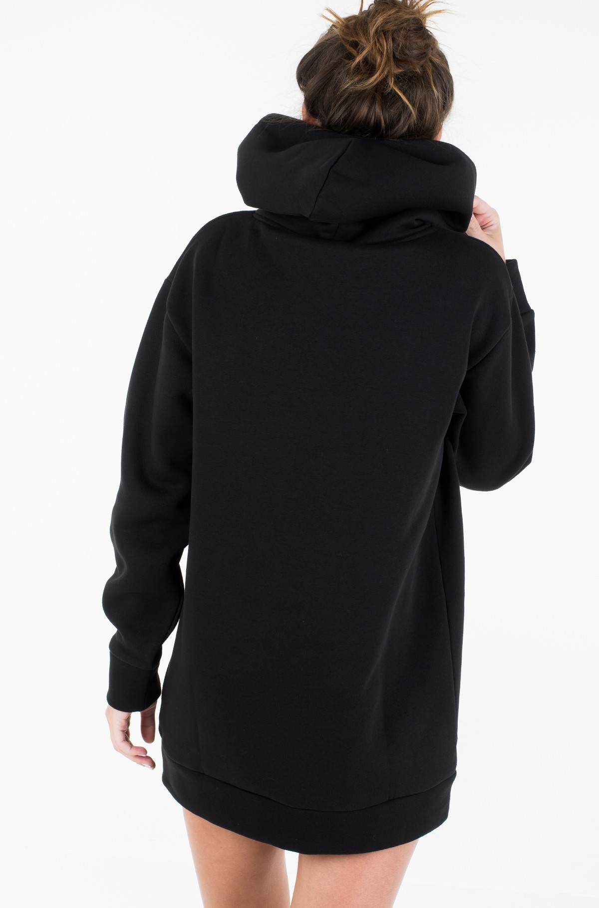 Suknelė KRISTAL HOODED DRESS LS-full-3