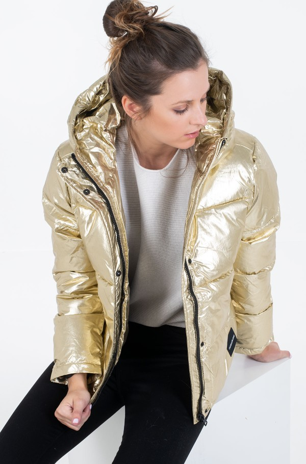 MW GOLD PUFFER JACKET