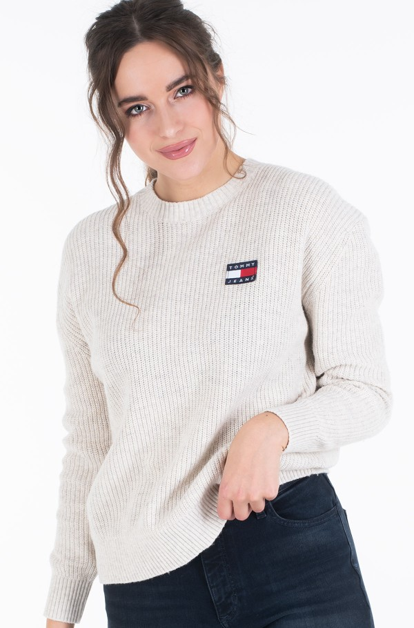 TJW TOMMY BADGE SWEATER-hover