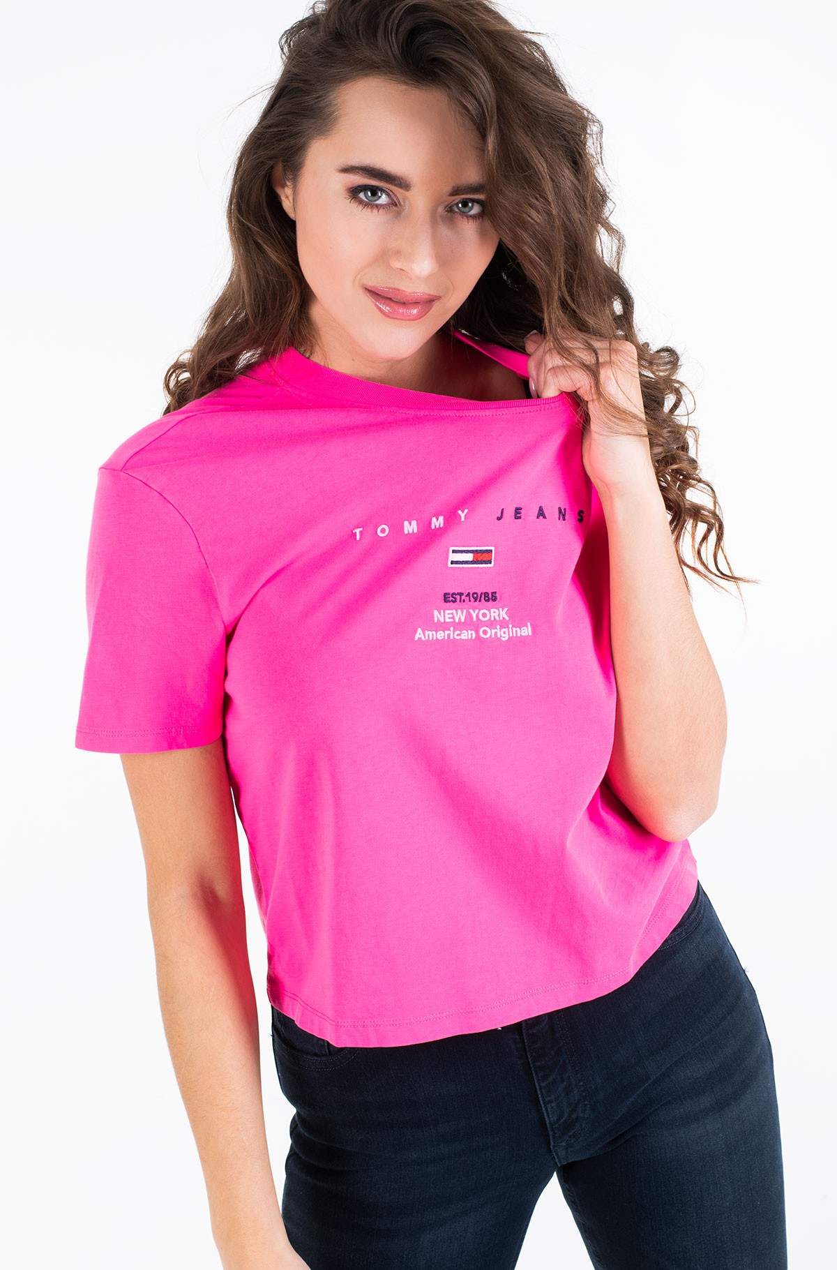 Marškinėliai TJW SMALL LOGO TEXT TEE-full-1