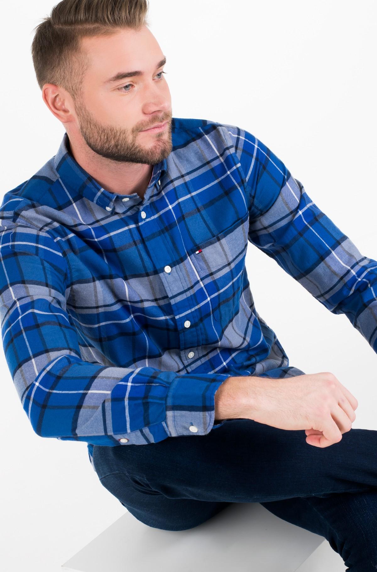 Marškiniai CLASSIC TARTAN SHIRT-full-1