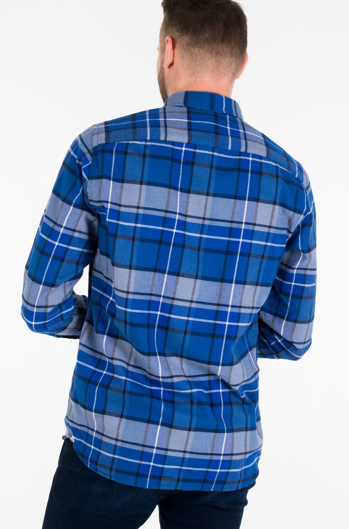 Marškiniai CLASSIC TARTAN SHIRT-full-3