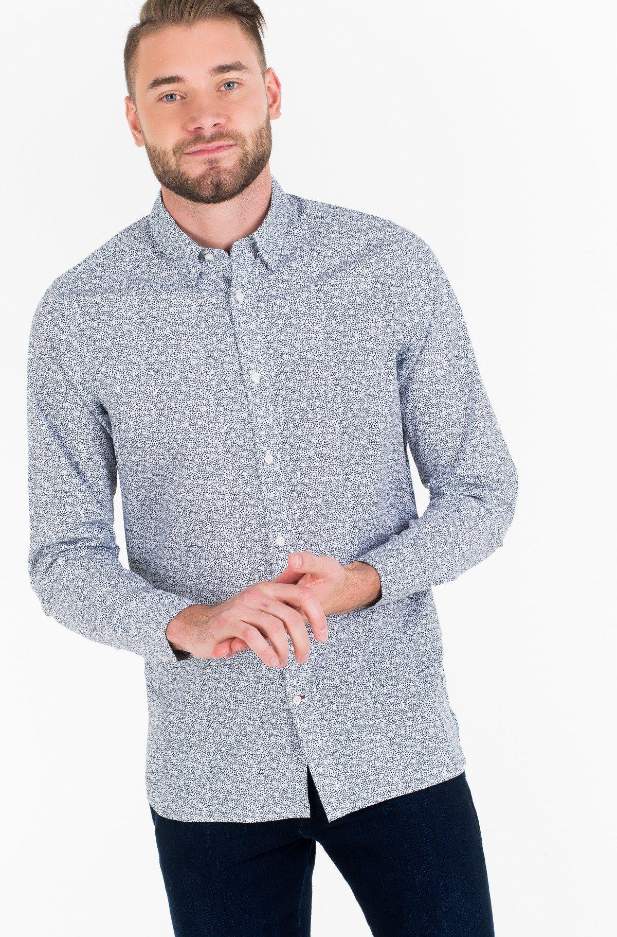 Marškiniai WCC SLIM FLOWER PRINT SHIRT-full-1