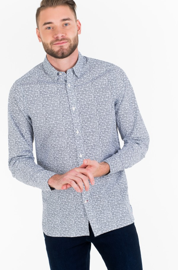 WCC SLIM FLOWER PRINT SHIRT