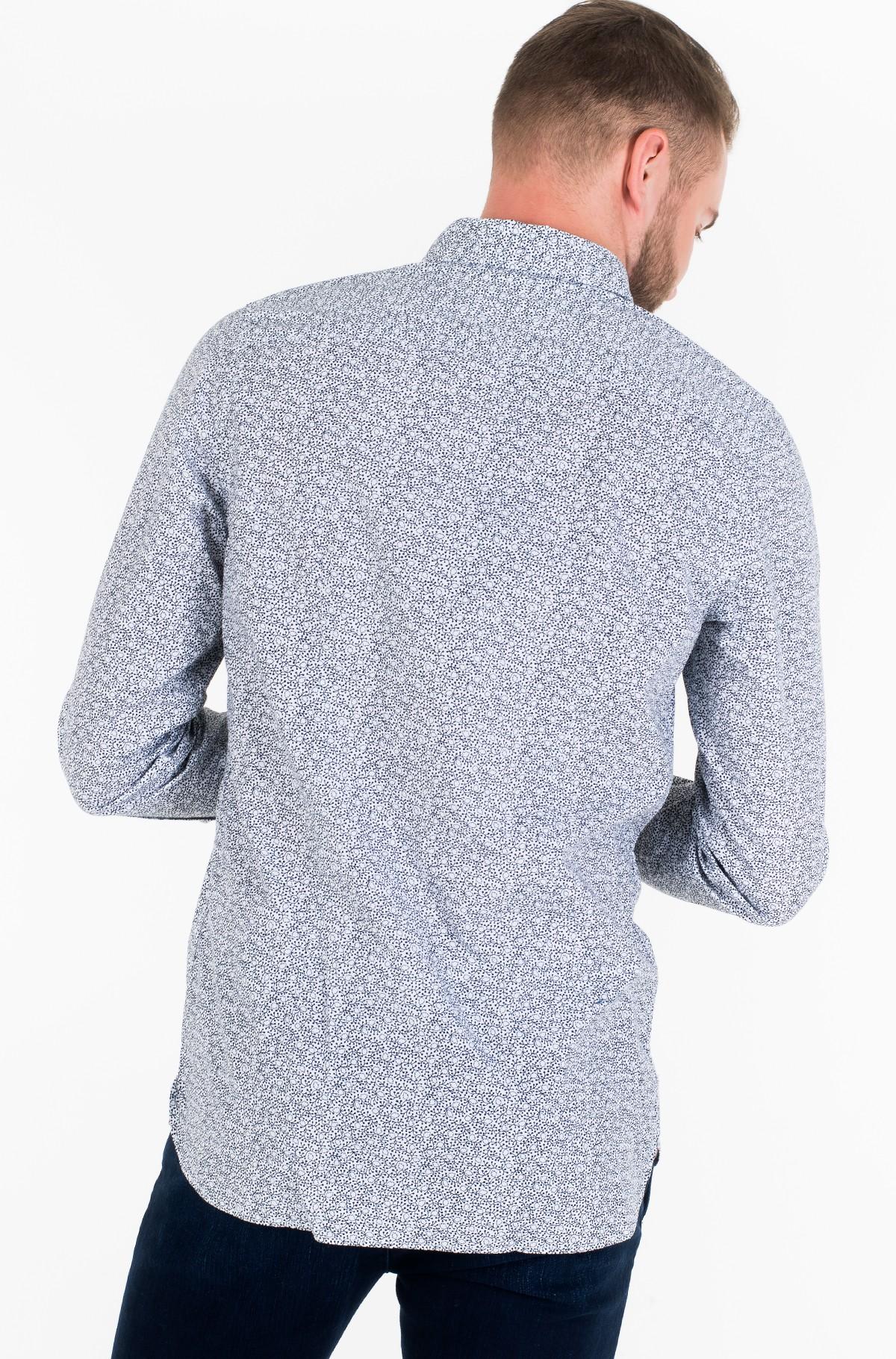 Marškiniai WCC SLIM FLOWER PRINT SHIRT-full-2