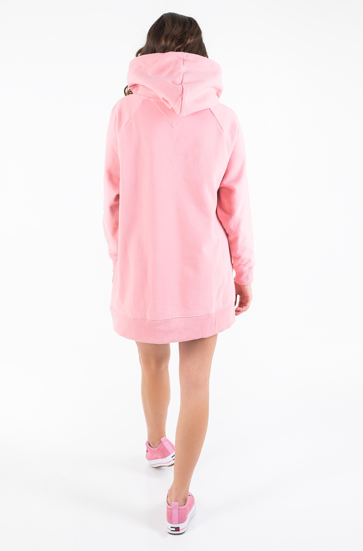 Dress TJW LOGO HOODIE DRESS-full-3